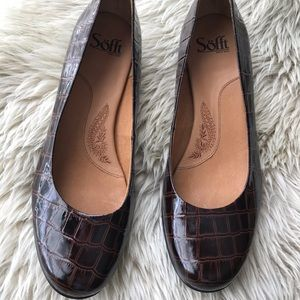 Sofft low heel Brown shoes